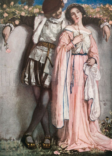 Beatrice and Benedick. Much Ado About Nothing - Act IV, Scene 1